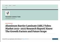 글로벌 알루미늄 배리어 라미네이트 튜브 시장